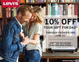 levis fathers day